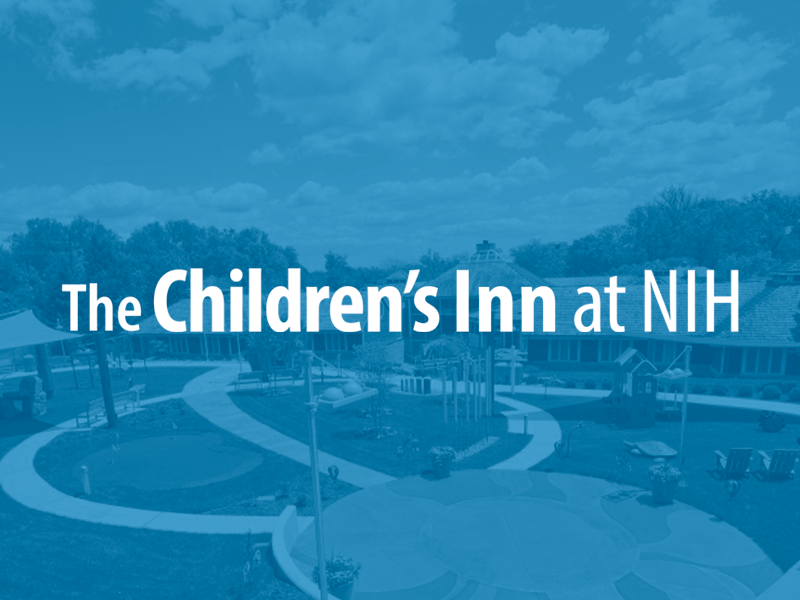 Video thumbnail: Children's Inn logo on blue background