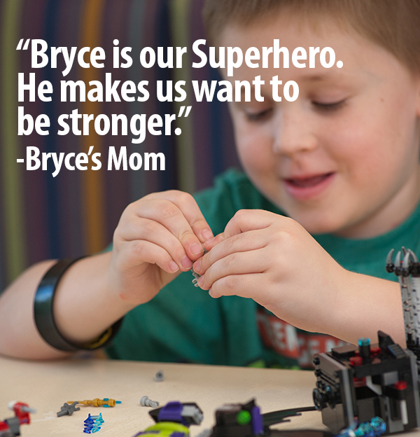 Bryce with Mom