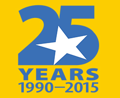 The Children's Inn 25th Anniversary logo