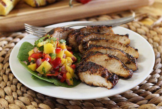 Jamaican Pineapple Chicken