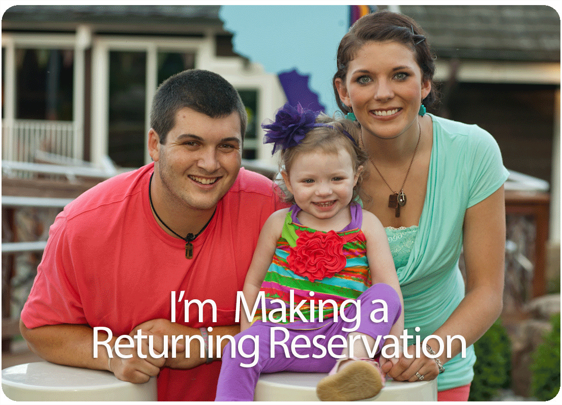 I'm making a returning reservation