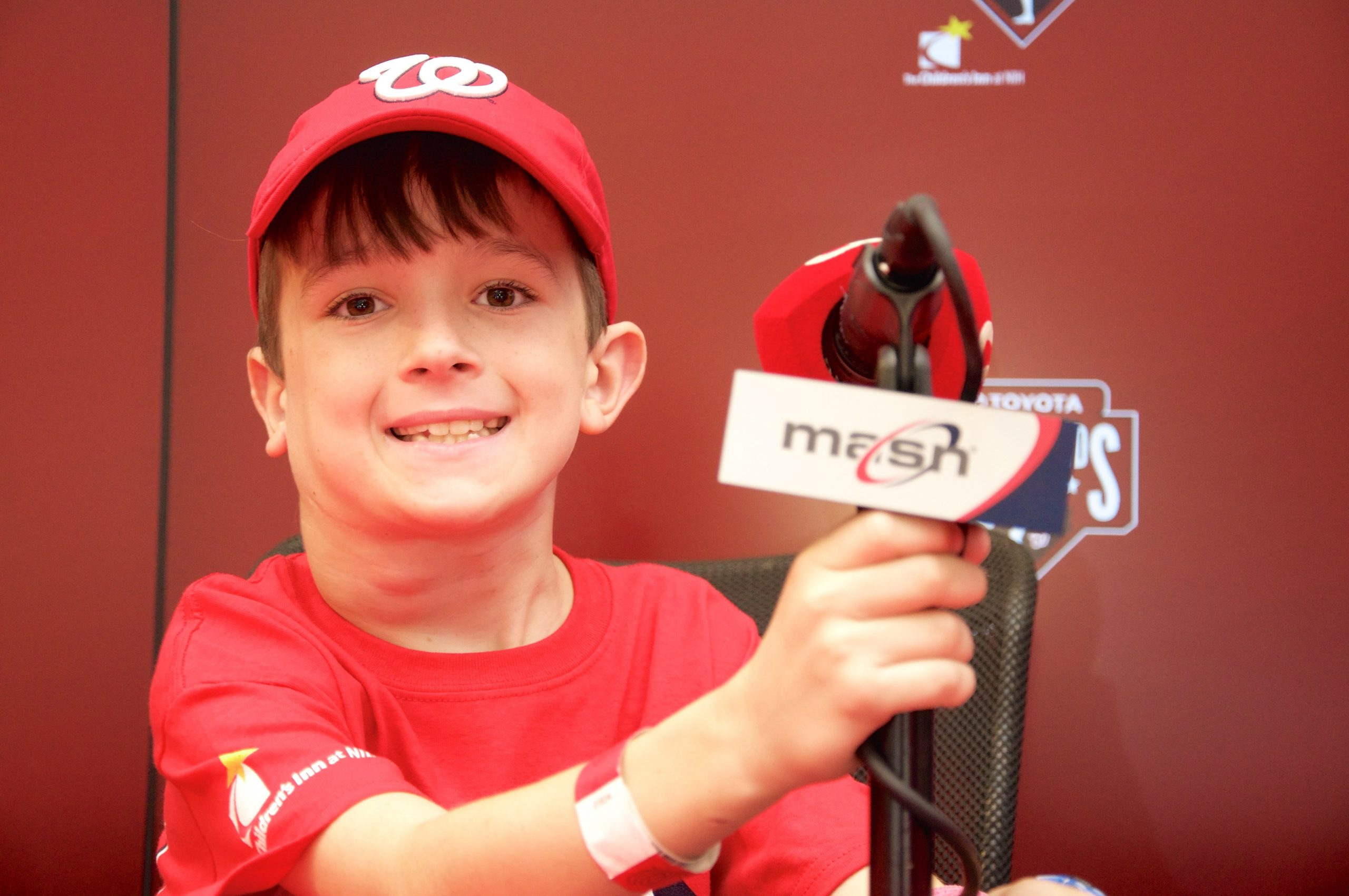 Moss at Nationals Game