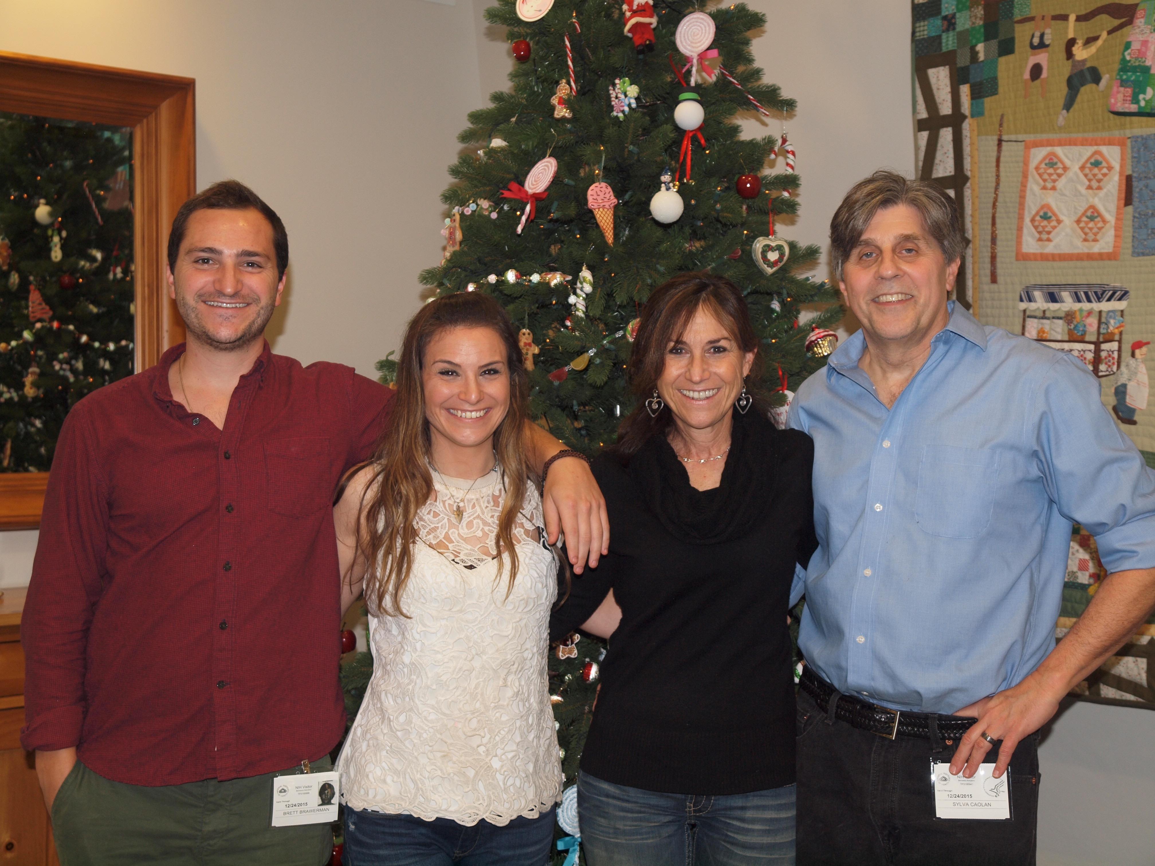 Weiner Family at The Children's Inn