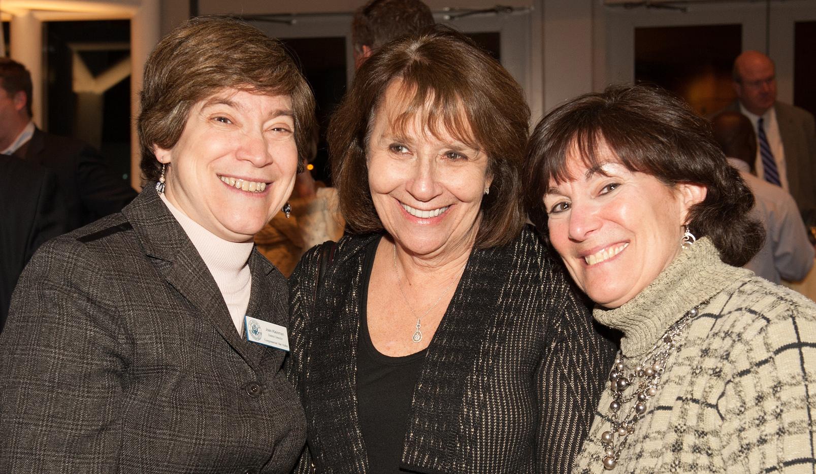 The Children's Inn Volunteers Robin Shapiro and Susan Cohen