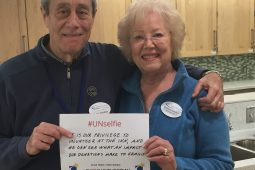 Barbara and Barry Gordon The Children's Inn Volunteers