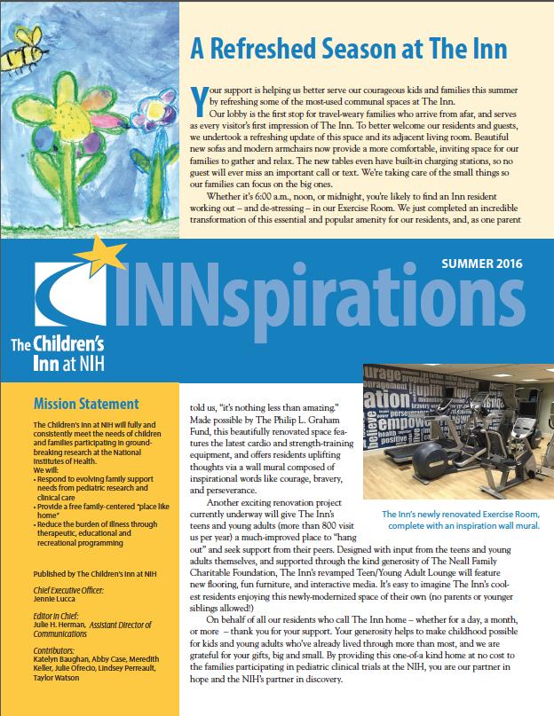 Summer 16 Newsletter