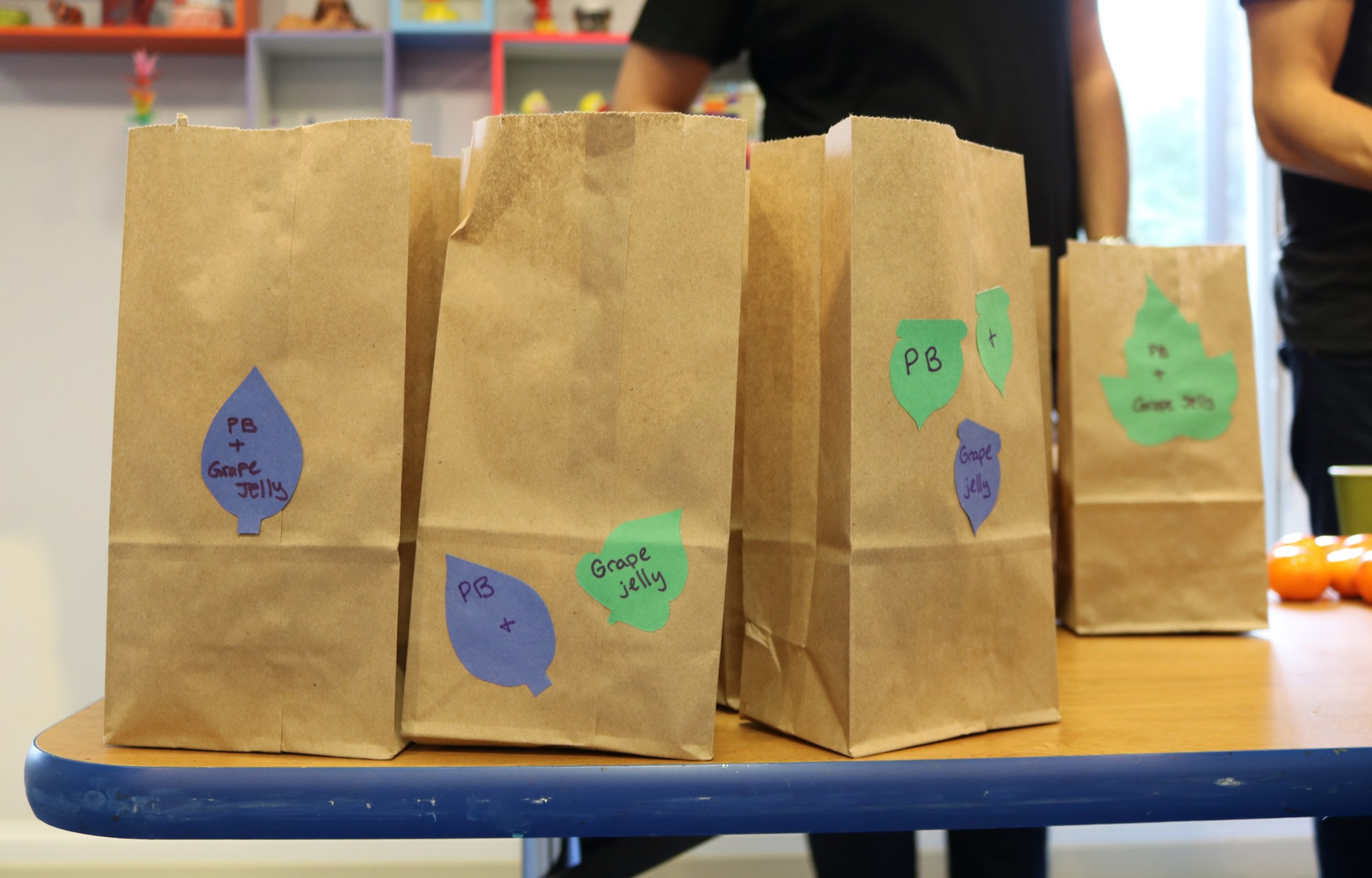 Bagged surprised for the children