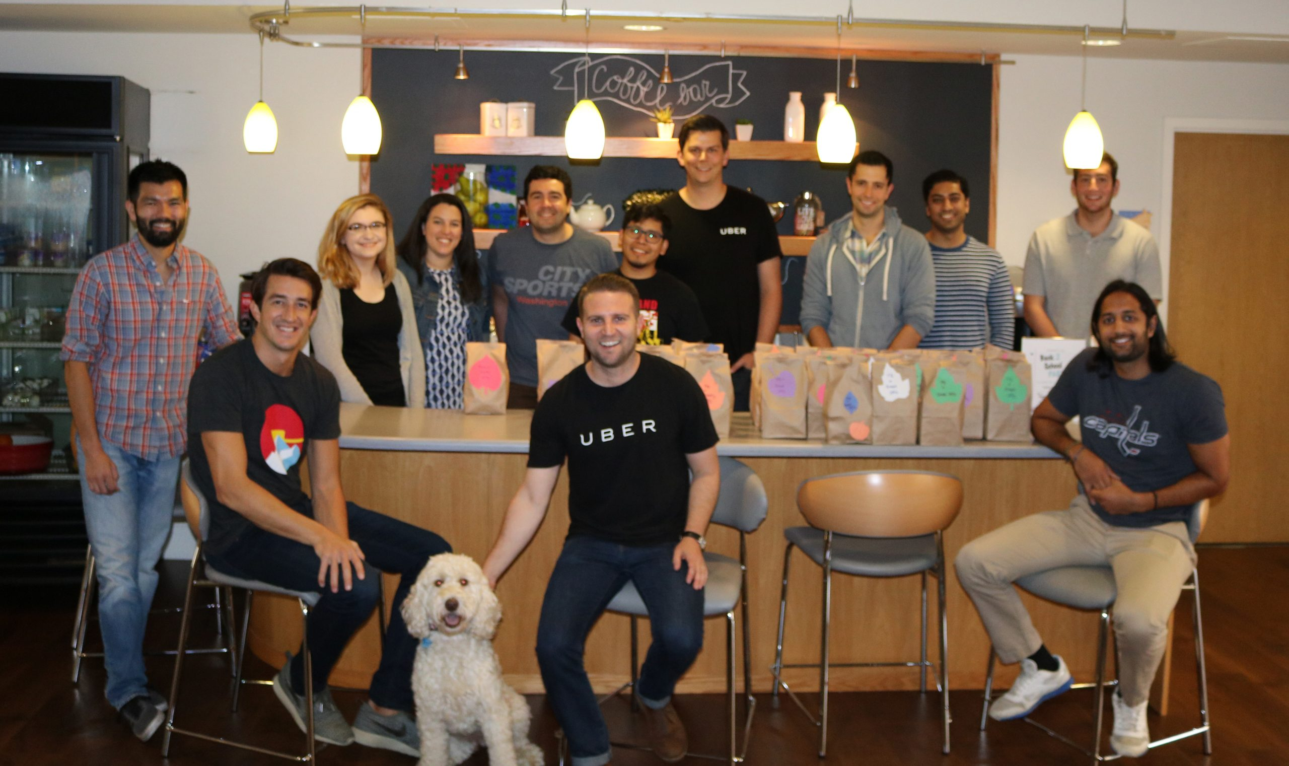 Group of Uber employees giving back at The Inn
