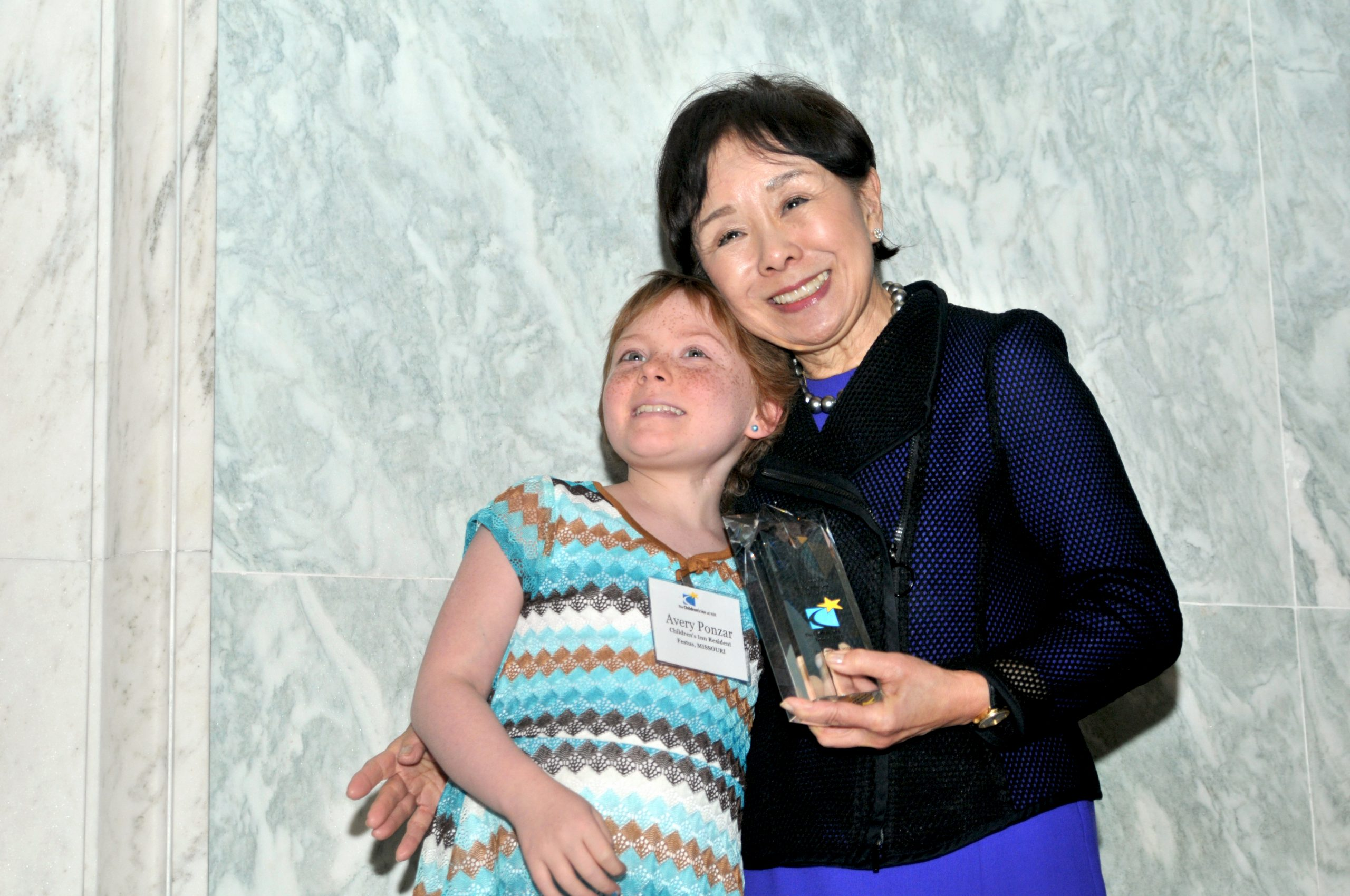 Doris Matsui and Avery Ponzar at the 2018 Congressional Event