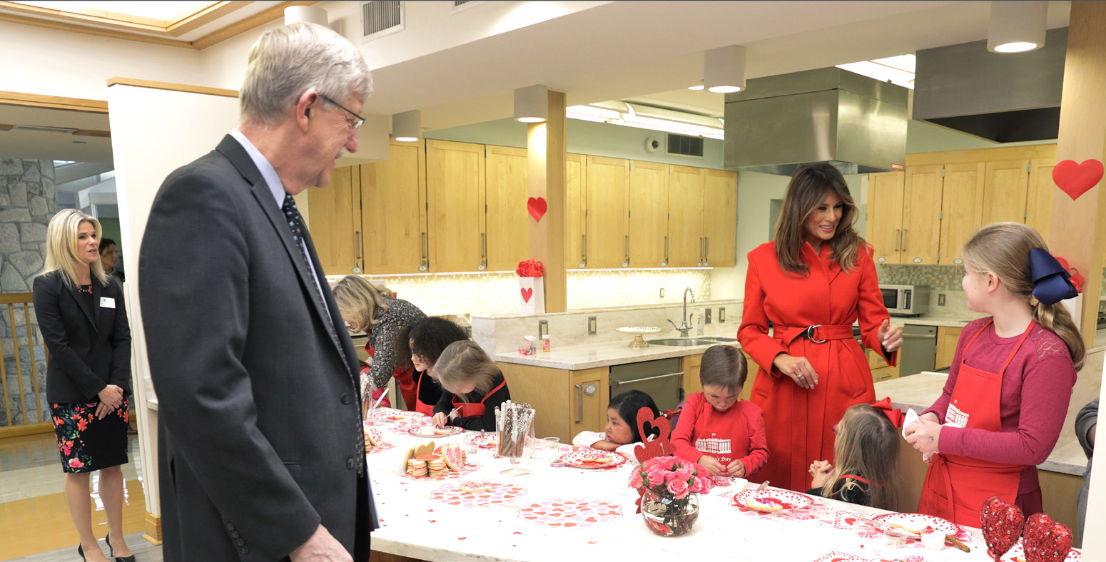 First Lady Sweetens Valentine's Day at Inn