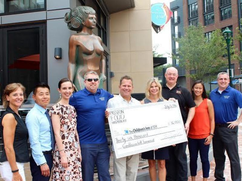 PassionFish Restaurant donates $36K to The Inn