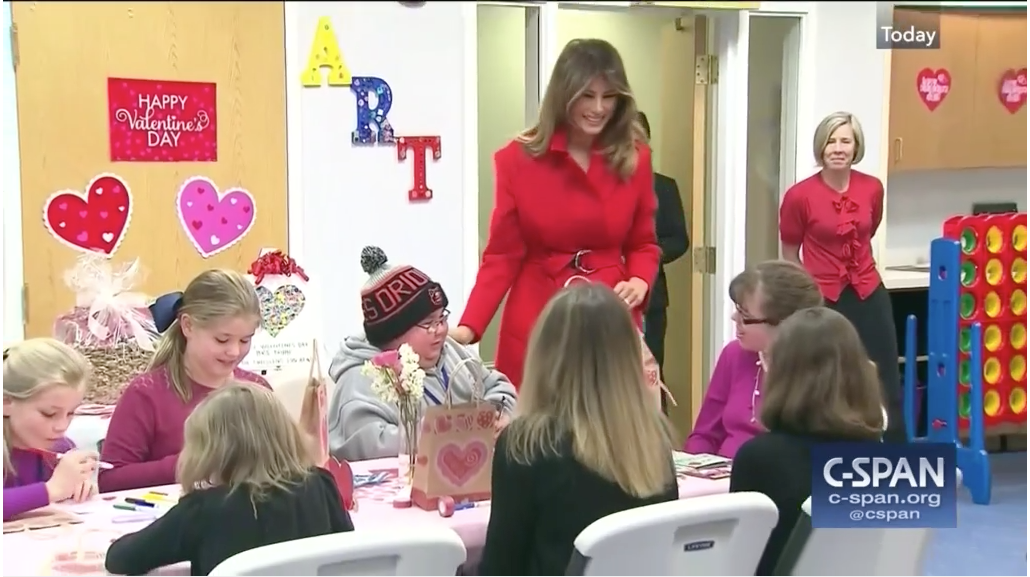 First Lady Melania Trump's visit to The Inn featured on C-SPAN