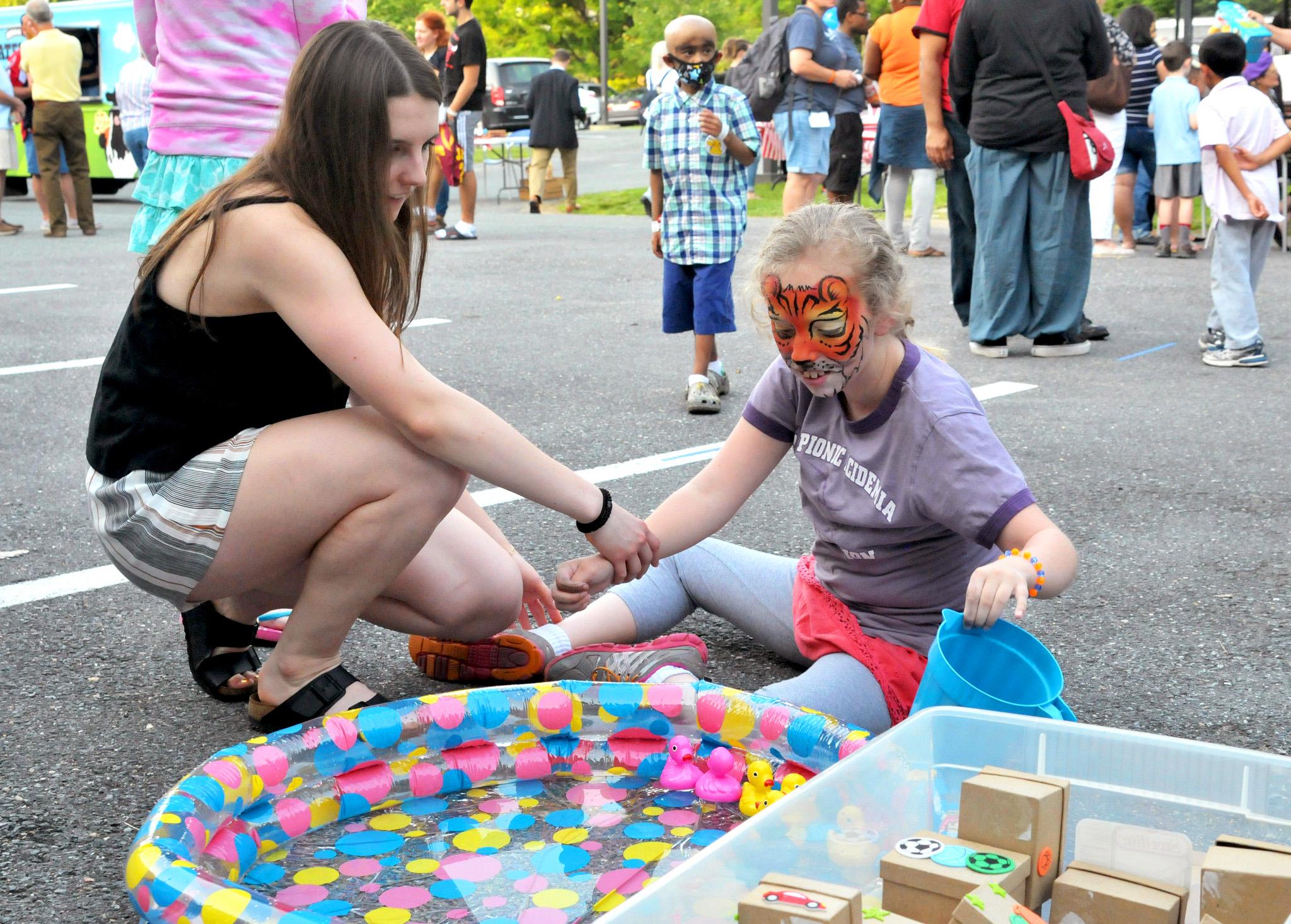 Teen Ambassador at carnival