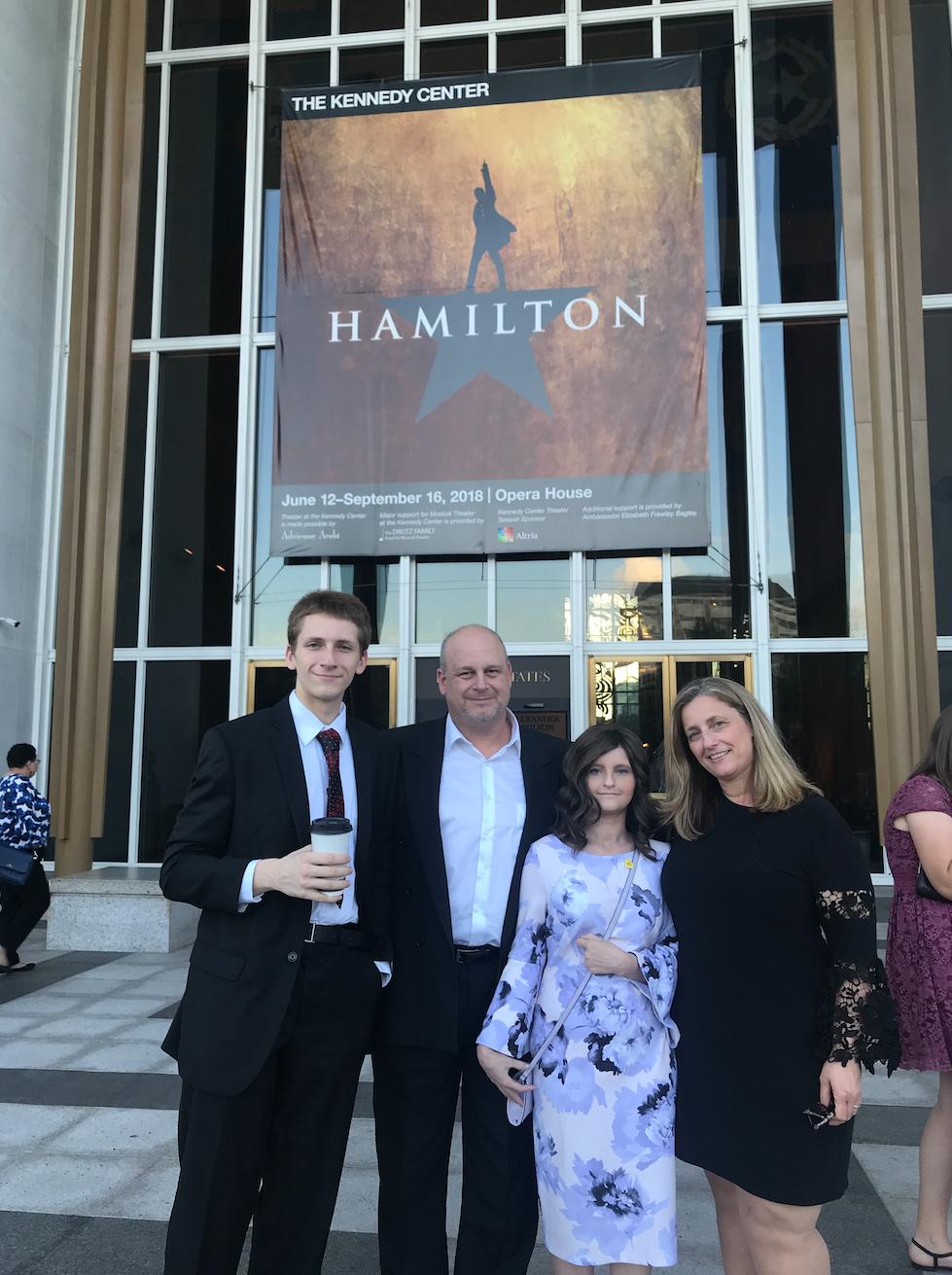 Inn family at Hamilton