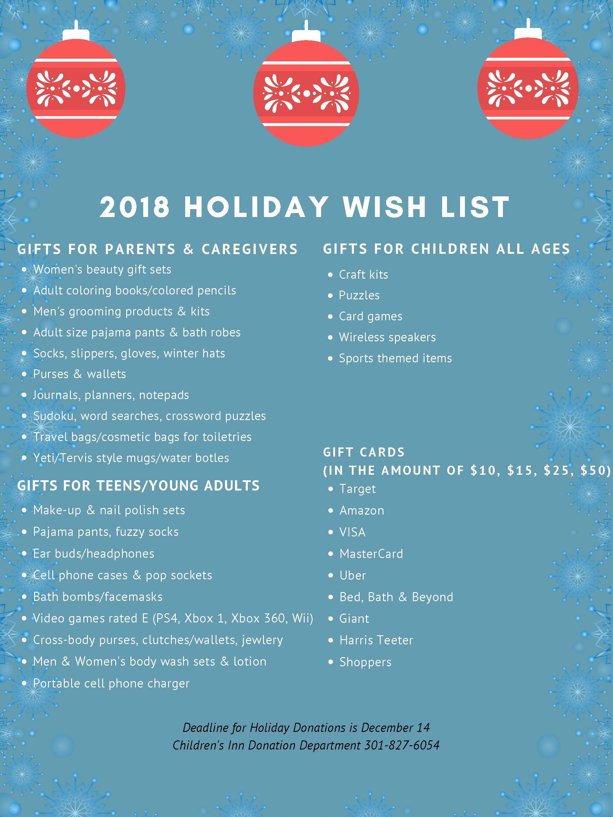 2018 Holiday Wish List pg 2