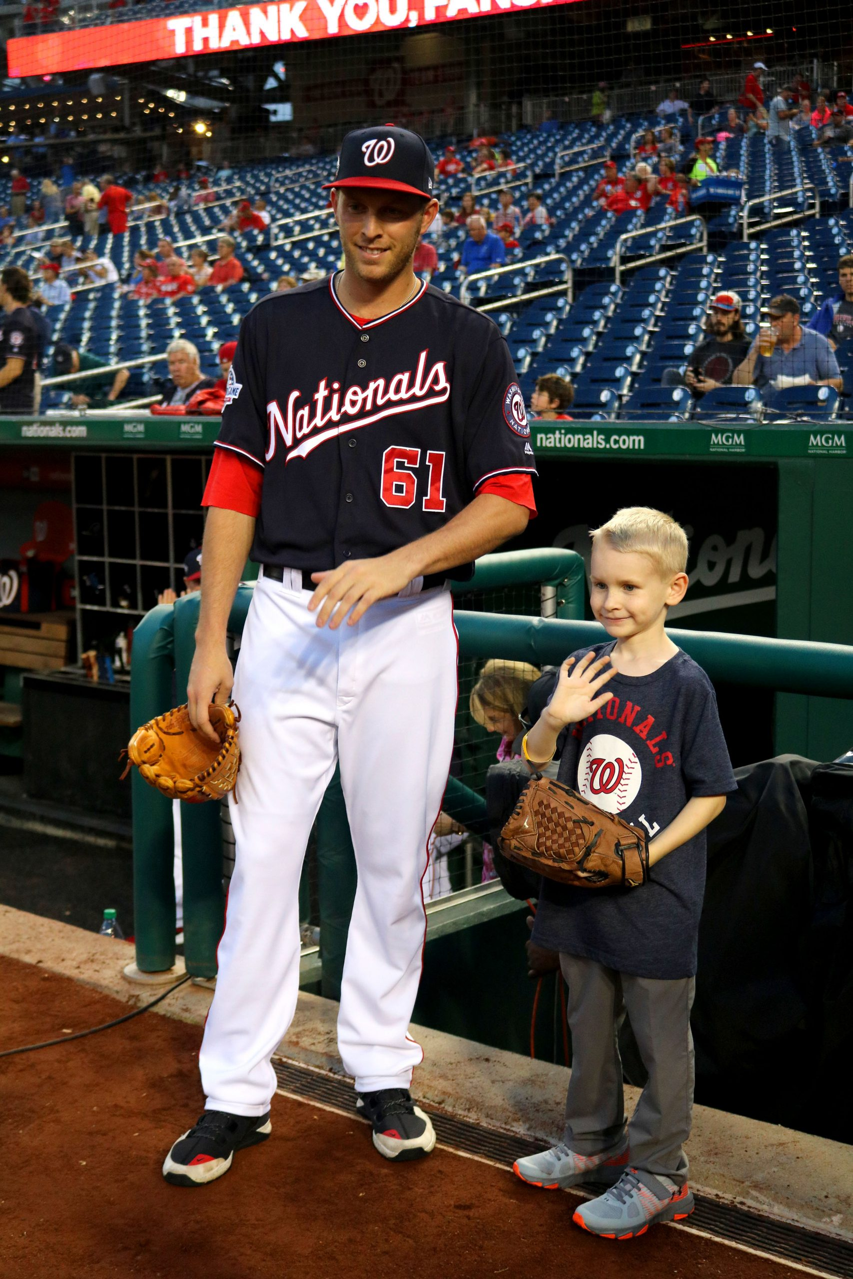 Abram and Nats pitcher Kyle McGowin
