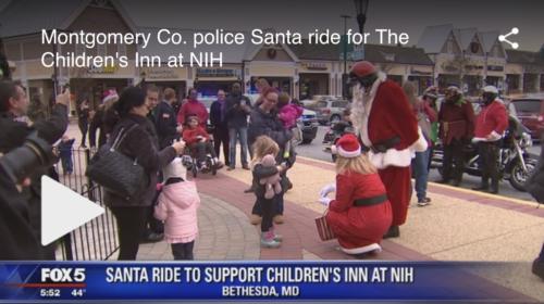 FOX 5 Santa Ride