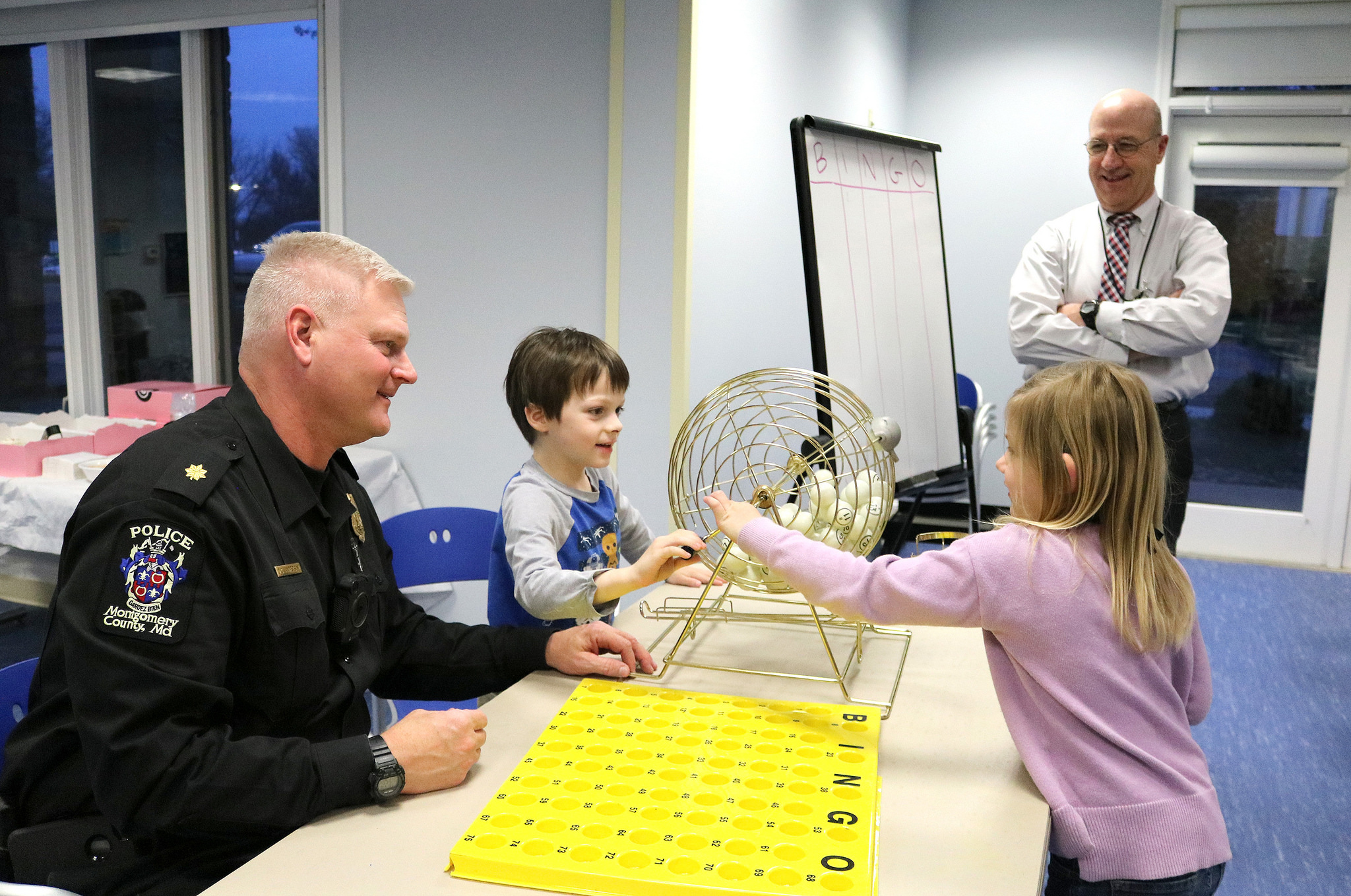 Bingo with Officer Dave