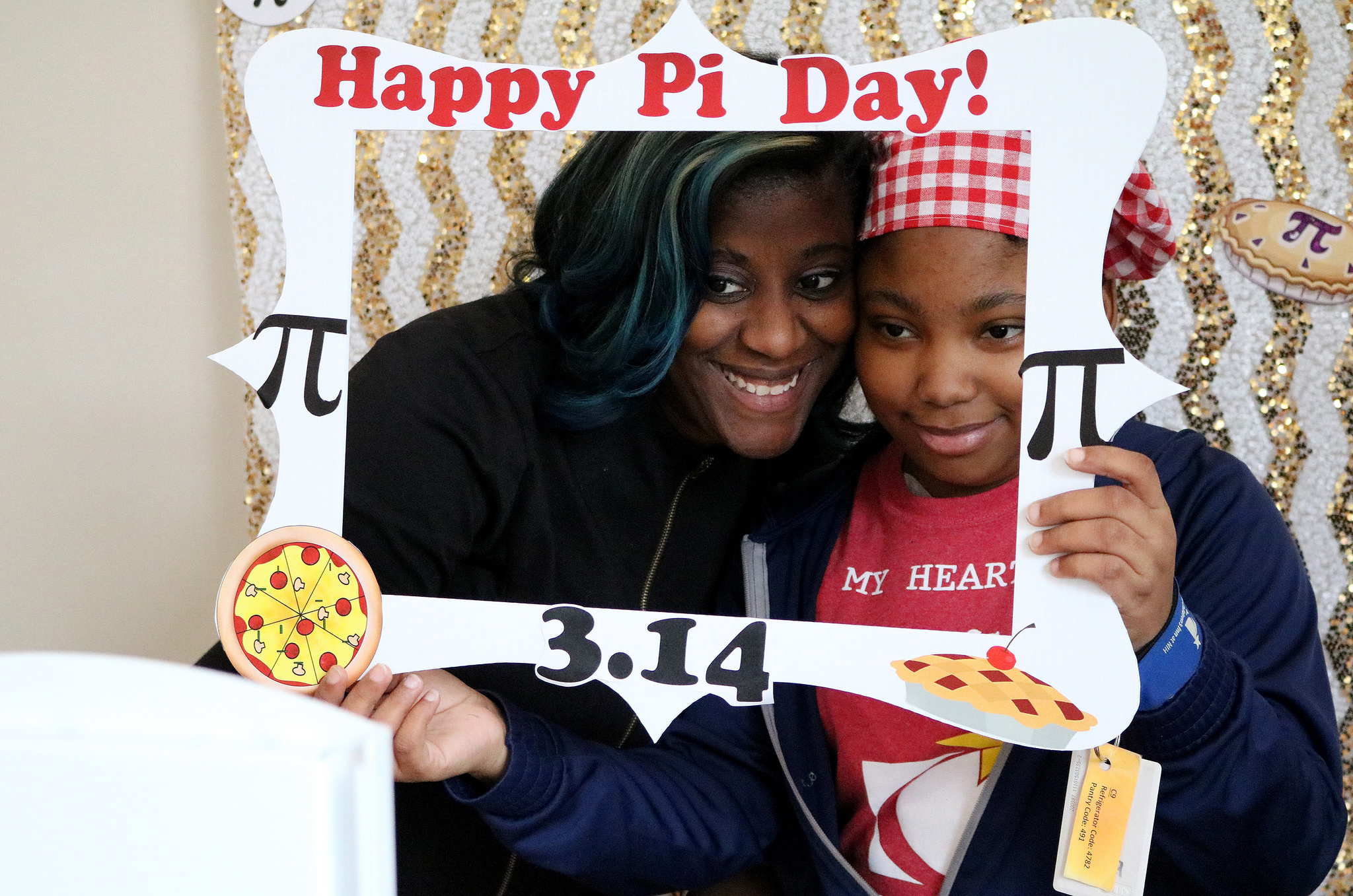 Danielle on pi day