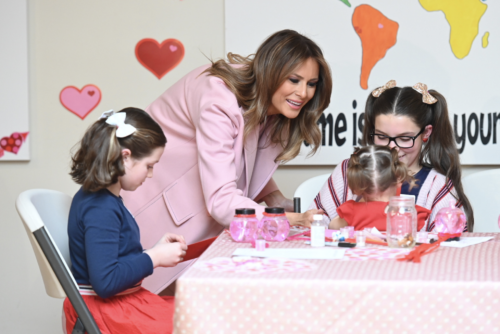 FLOTUS visits The Inn