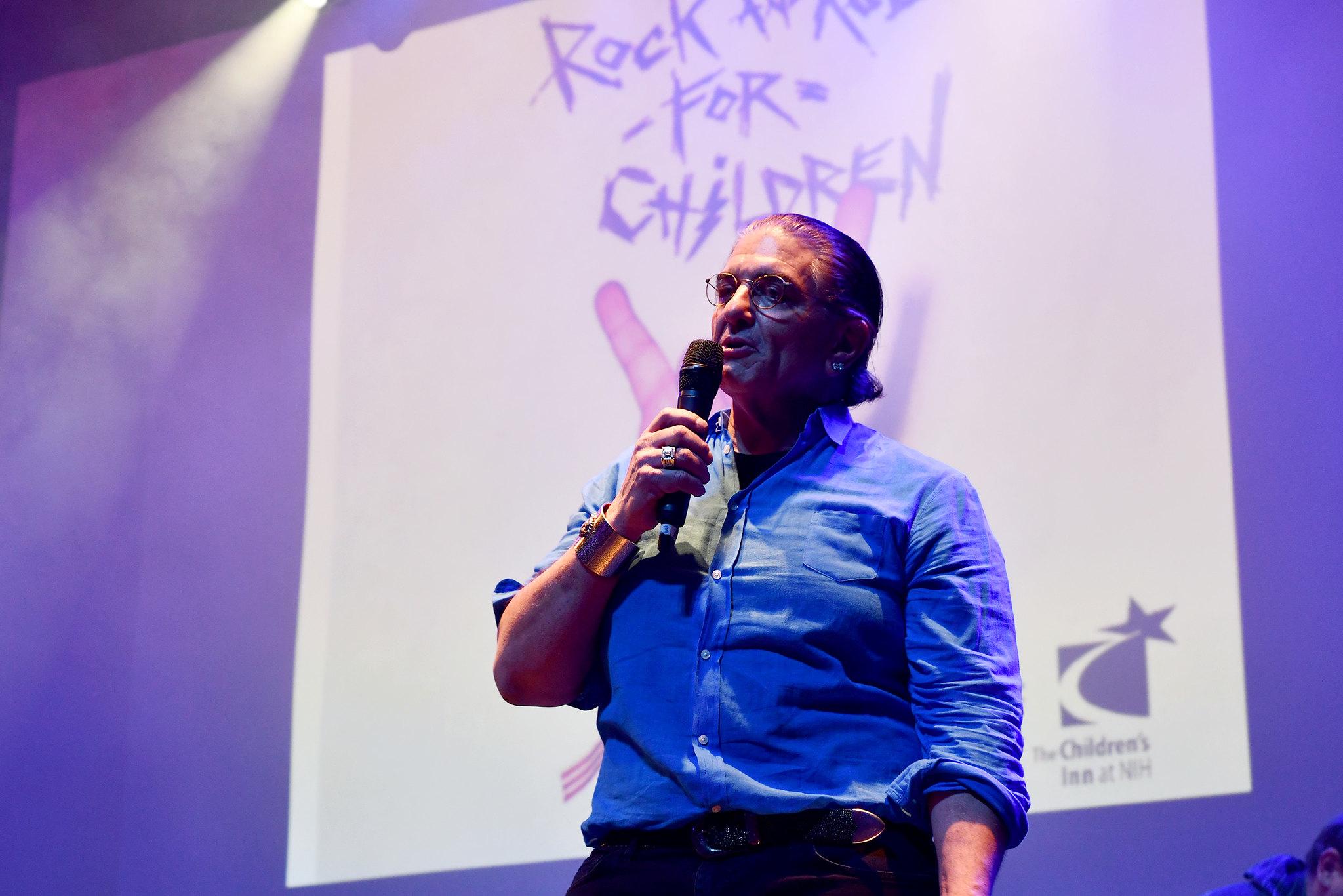 Jon Belinke of the RRFC foundation speaks