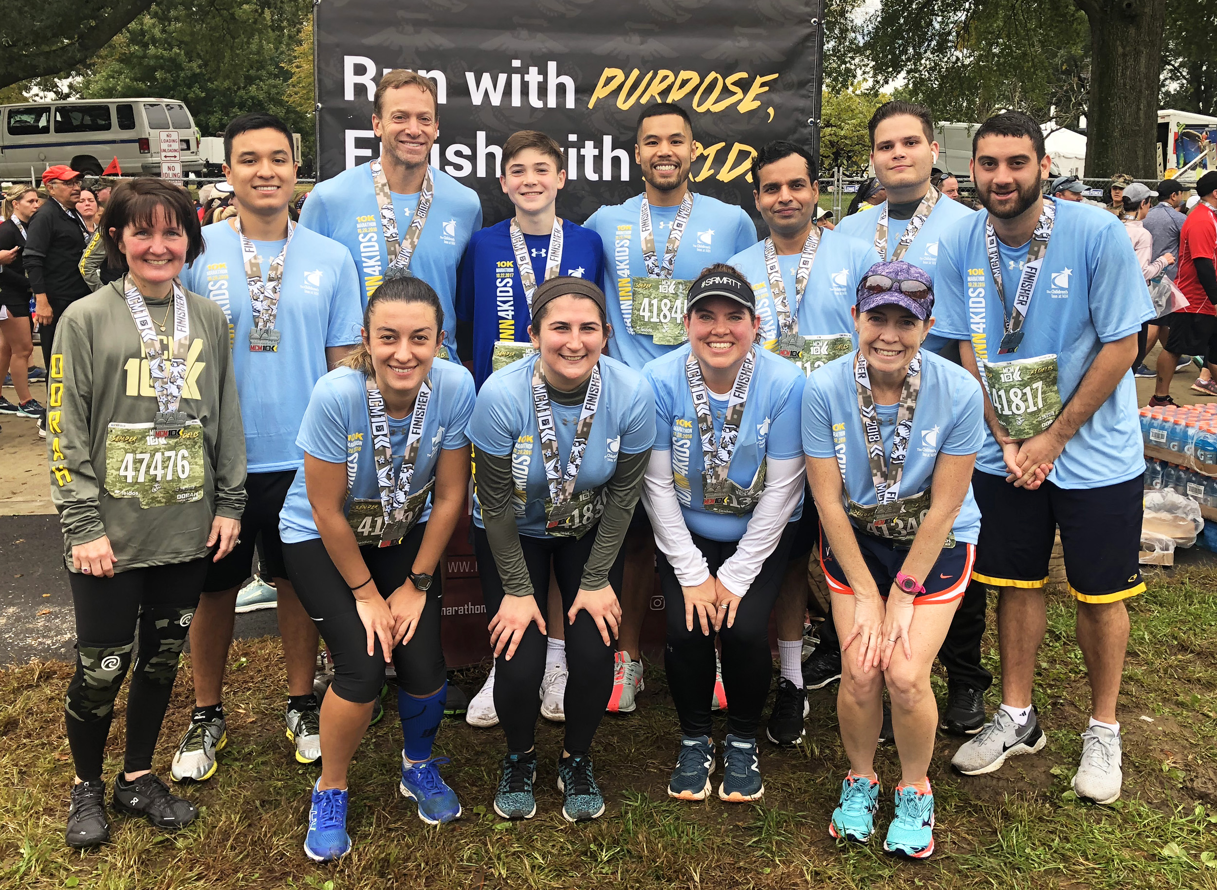 Marine Corps group of runners 10K team