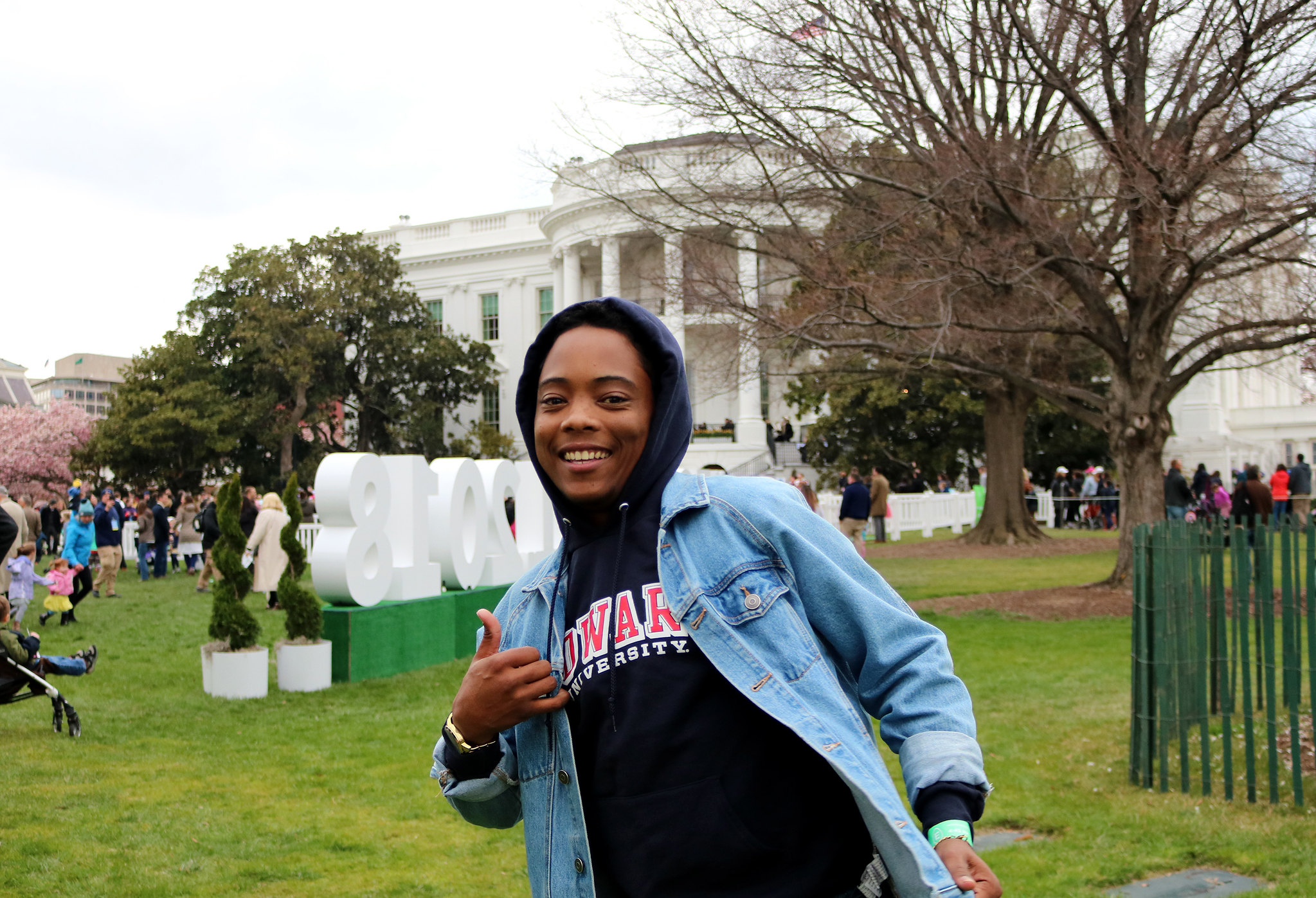 Inn resident Jules at the White House