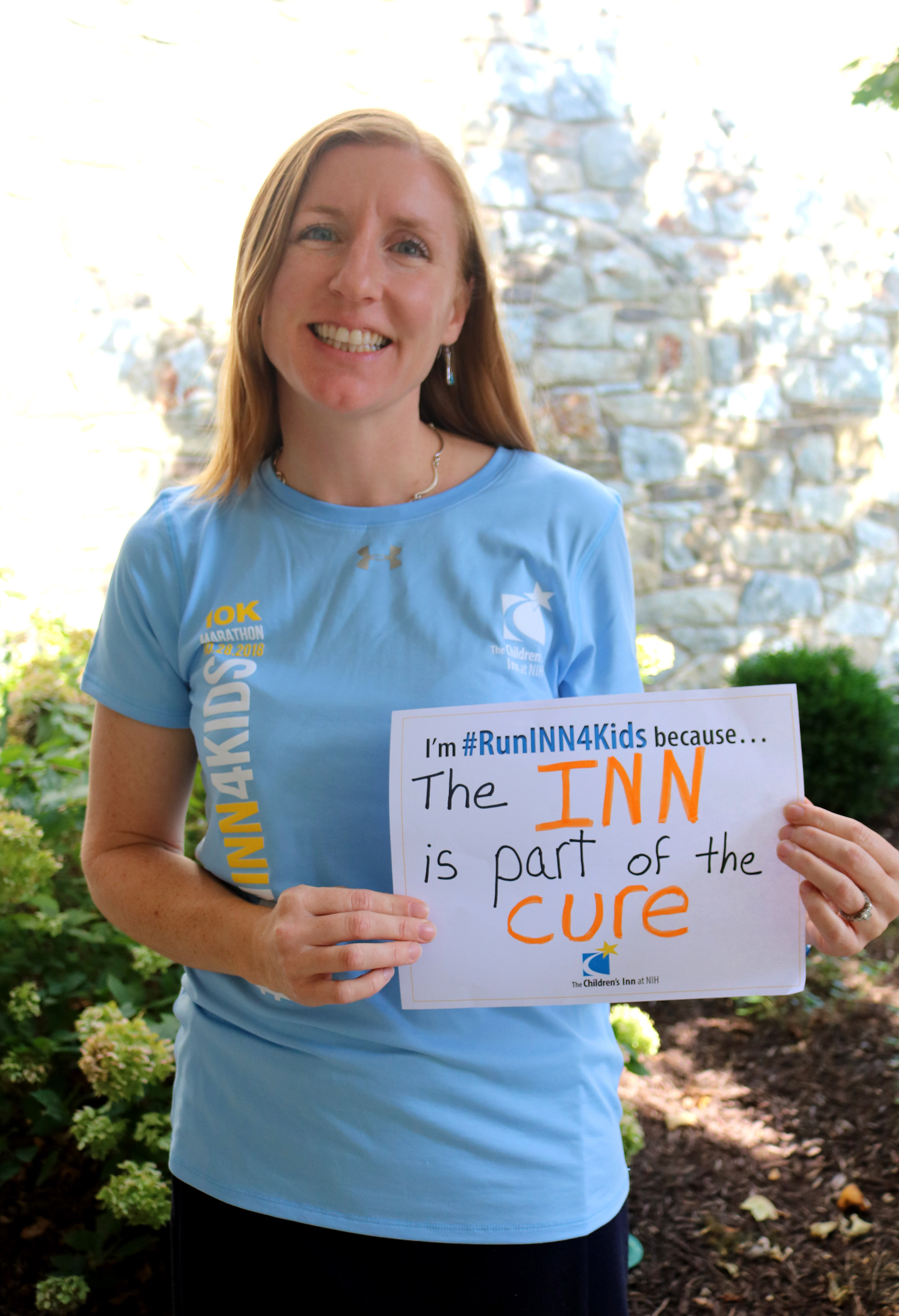 Inn staff member Erica shares why she's running on Team #RunINN4Kids