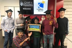 Young adults at an Escape Room event