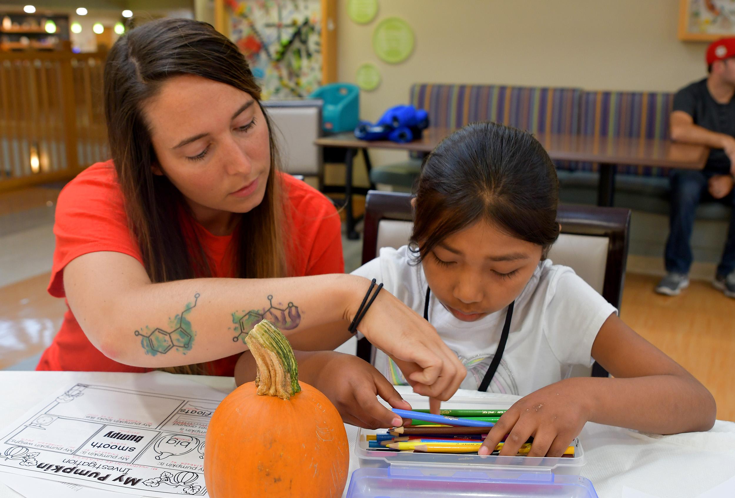 INNgineers educators teach kids at the Inn
