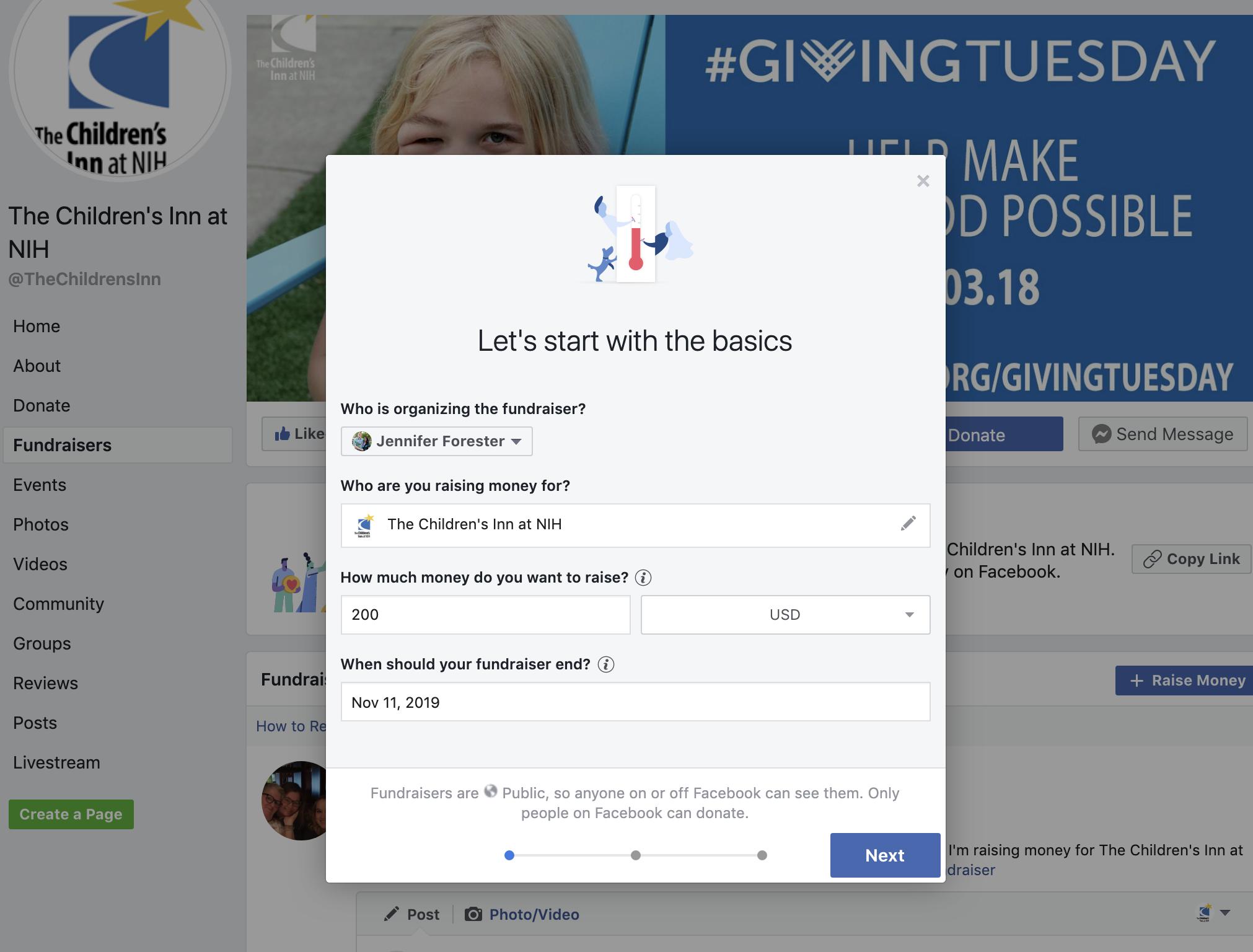 GT FB Fundraiser step 2
