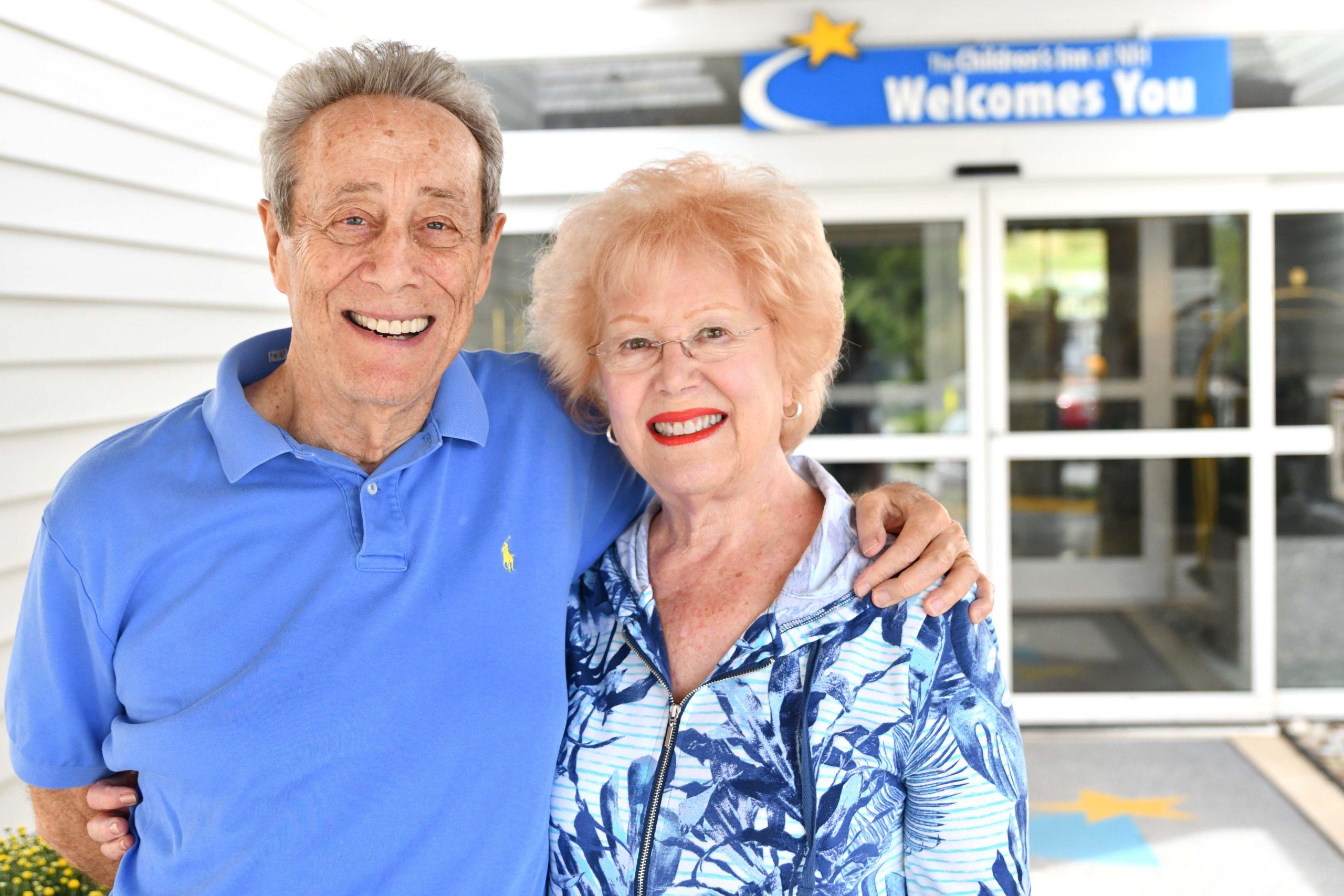 Barry and Barbara Gordon - Inn volunteers