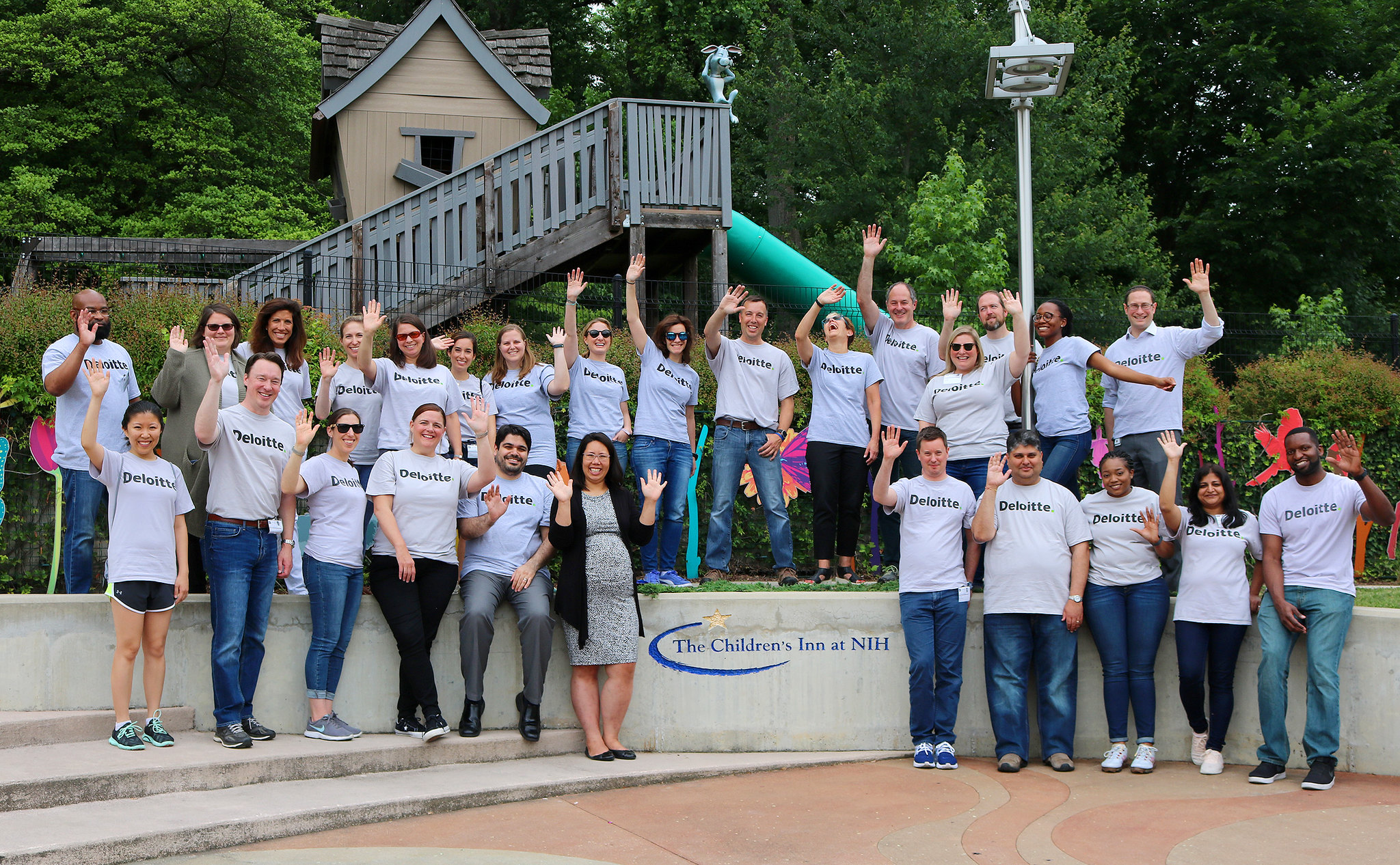 Deloitte group - service day