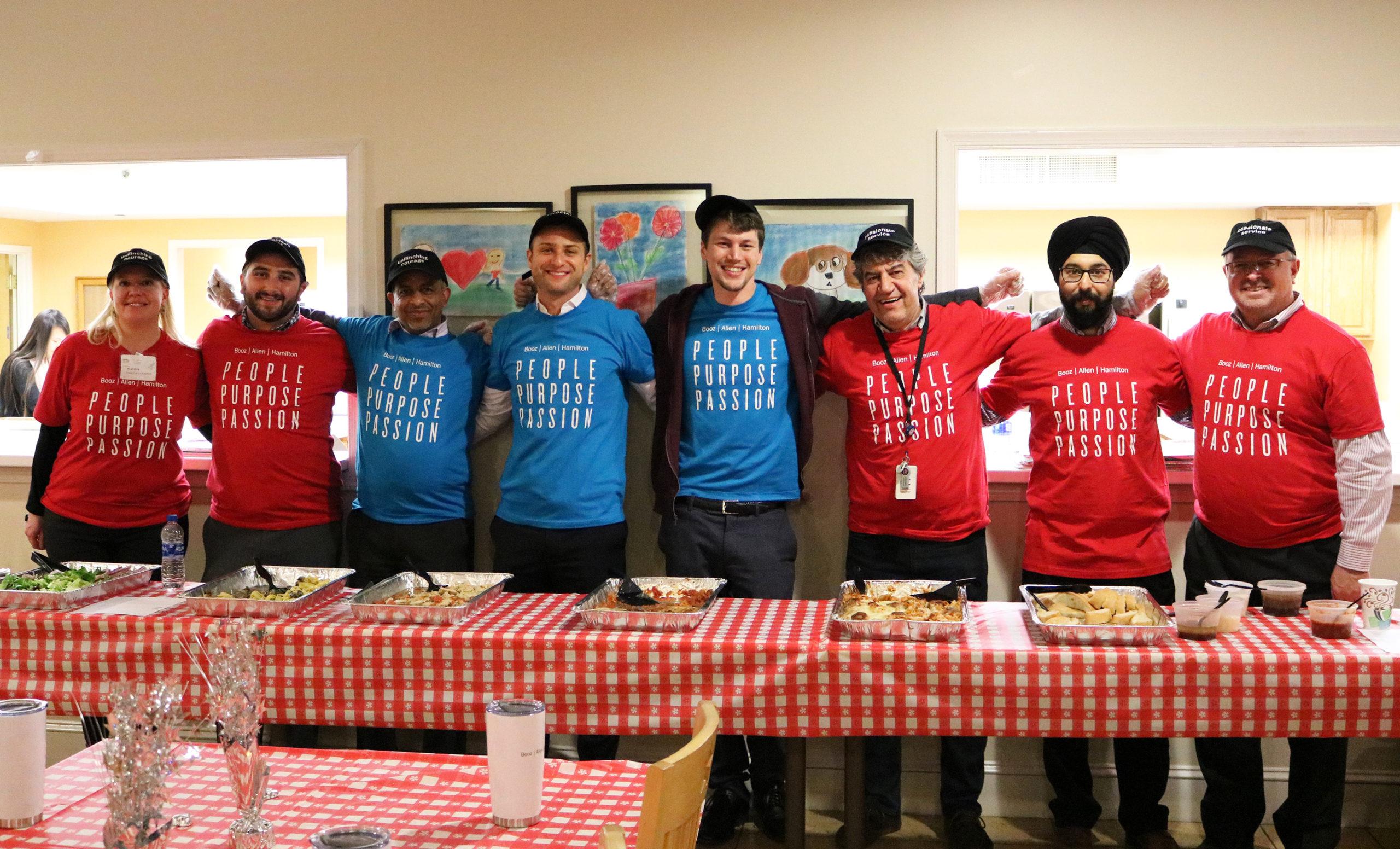 Booz Allen Volunteers