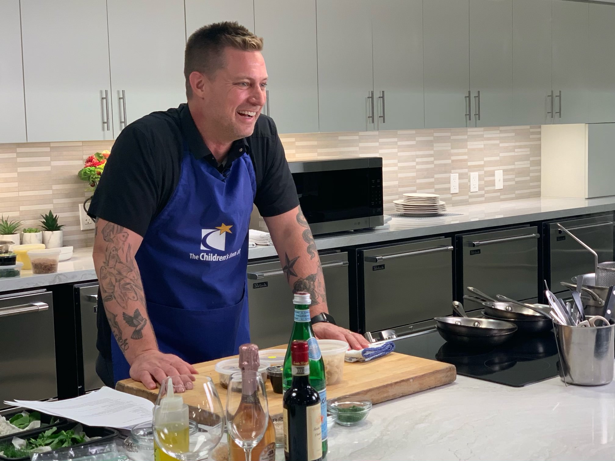 James Beard celebrity chef at the Children