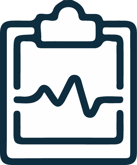 monitor-heart-notes icon