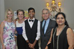 Drs. Fauci, Grady, Jennie Lucca, Inn residents