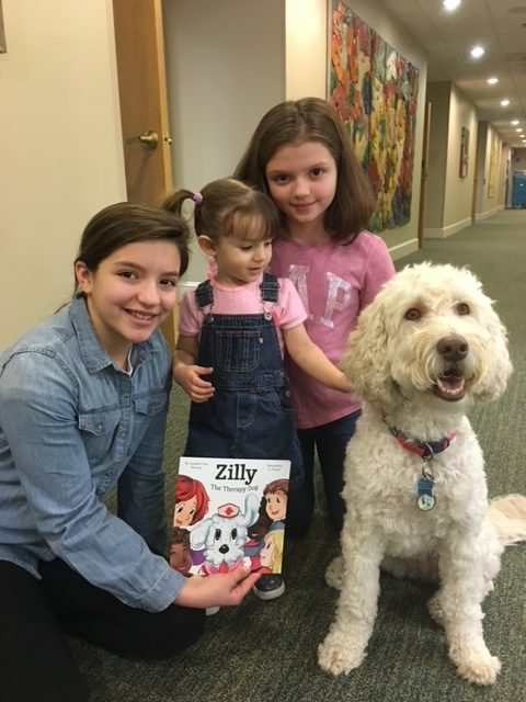 Elizabeth and Abbigail with Zilly