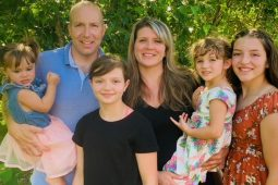 Erin and Shawn with their daughters